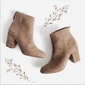 Worthington Taupe Ankle Boots Size 9